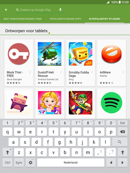 Samsung Galaxy Tab A 9.7 (SM-T555) - Applicaties - Downloaden - Stap 13