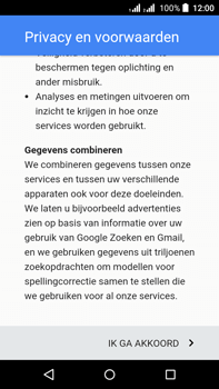 Acer Liquid Z630 - Applicaties - account instellen - Stap 15