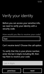 Nokia Lumia 630 - Applications - Create an account - Step 23