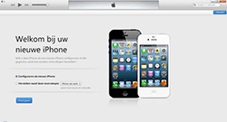 Apple iPhone 4 iOS 7 - software - pc suite installeren - stap 9