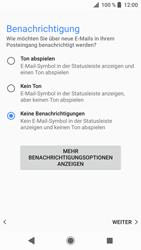 Sony Xperia XZ - E-Mail - Konto einrichten - 0 / 0