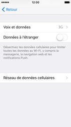 Apple iPhone SE - Internet et connexion - Activer la 4G - Étape 5