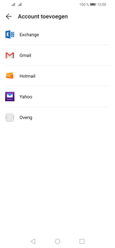 Huawei P30 Lite - E-mail - e-mail instellen (outlook) - Stap 5