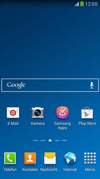 Samsung Galaxy Note III LTE - Startanleitung - Installieren von Widgets und Apps auf der Startseite - Schritt 2