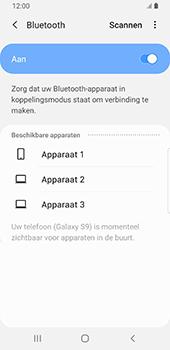 Samsung Galaxy S9 Android Pie - Bluetooth - koppelen met ander apparaat - Stap 9