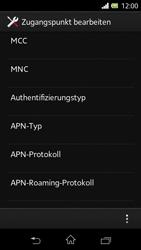 Sony Xperia L - Internet - Manuelle Konfiguration - Schritt 14
