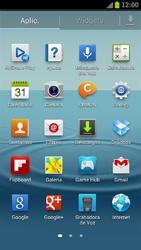 Samsung I9300 Galaxy S III - Internet - Ver uso de datos - Paso 3