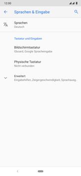 Nokia 6.2 - Startanleitung - So fügen Sie eine Tastatursprache hinzu - Schritt 6