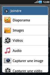 Samsung Galaxy Ace - Contact, Appels, SMS/MMS - Envoyer un MMS - Étape 9