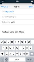 Apple iPhone 5c iOS 8 - E-mail - Bericht met attachment versturen - Stap 7