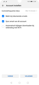 Huawei P Smart (2019) - E-mail - e-mail instellen (yahoo) - Stap 7