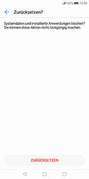 Huawei Mate 10 Pro - Fehlerbehebung - Handy zurücksetzen - Schritt 9