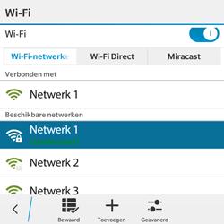BlackBerry Classic - WiFi - Handmatig instellen - Stap 9