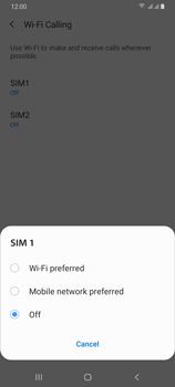 Samsung Galaxy A70 - WiFi - Enable WiFi Calling - Step 8