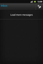 Sony ST27i Xperia Go - E-mail - Sending emails - Step 4