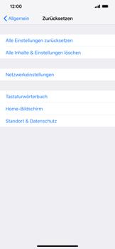 Apple iPhone XS Max - Gerät - Zurücksetzen auf die Werkseinstellungen - Schritt 5