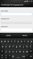 HTC One Mini - E-Mail - Manuelle Konfiguration - Schritt 15