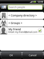 HTC A3333 Wildfire - E-mail - Sending emails - Step 6
