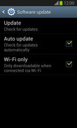 Samsung Galaxy Trend Lite - Software - Installing software updates - Step 7