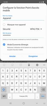 Samsung Galaxy S20 Ultra - Internet et connexion - Partager votre connexion en Wi-Fi - Étape 9
