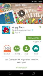 Sony Xperia E4G - Apps - Herunterladen - 1 / 1