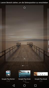 Huawei Mate 9 - Startanleitung - Installieren von Widgets und Apps auf der Startseite - Schritt 5