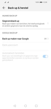 Huawei Y5 (2019) - Data - maak een back-up met je account - Stap 5