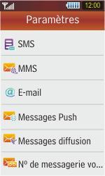 Samsung S5230 Star - SMS - Configuration manuelle - Étape 5