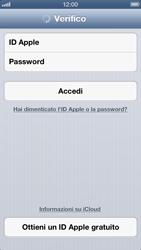 Apple iPhone 5 - Applicazioni - configurazione del servizio Apple iCloud - Fase 5