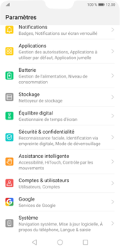 Huawei P20 Pro Android Pie - Appareil - Restauration d