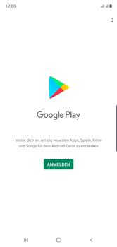 Samsung Galaxy Note 10 - Apps - Einrichten des App Stores - Schritt 4