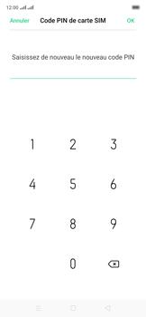Oppo Reno 2Z - Sécuriser votre mobile - Personnaliser le code PIN de votre carte SIM - Étape 14