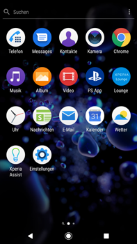 Sony Xperia XZ2 Premium - Android Pie - E-Mail - Konto einrichten - Schritt 3
