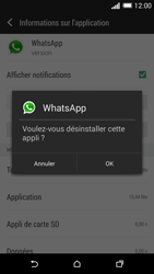 HTC One M8 - Applications - Comment désinstaller une application - Étape 7