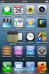 Apple iPhone 3GS - Startanleitung - Personalisieren der Startseite - Schritt 4