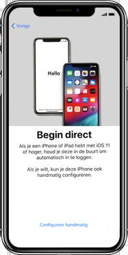 Apple iphone-xs-max-met-ios-13-model-a1921 - Instellingen aanpassen - Activeer het toestel en herstel jouw iCloud-data - Stap 8