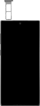 Samsung galaxy-note-10-dual-sim-sm-n970f - Instellingen aanpassen - SIM-Kaart plaatsen - Stap 3