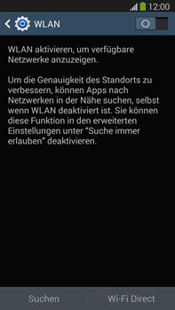 Samsung Galaxy Note 3 LTE - WLAN - Manuelle Konfiguration - 5 / 9