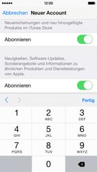 Apple iPhone 5S mit iOS 8 - Apps - Konto anlegen und einrichten - Schritt 28