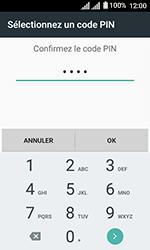 Alcatel U3 - Sécuriser votre mobile - Activer le code de verrouillage - Étape 10