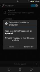 Sony Xperia Z - Bluetooth - Jumelage d