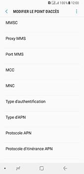 Samsung Galaxy A8 (2018) - MMS - Configuration manuelle - Étape 12