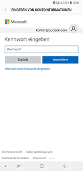 Samsung Galaxy A8 Plus (2018) - E-Mail - Konto einrichten (outlook) - 8 / 14