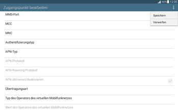 Samsung T535 Galaxy Tab 4 10.1 - Internet und Datenroaming - Manuelle Konfiguration - Schritt 15