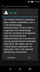 HTC Desire 320 - Netwerk - Handmatig netwerk selecteren - Stap 10