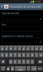 Samsung I8730 Galaxy Express - E-mail - Configuration manuelle - Étape 9