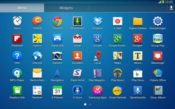 Samsung Galaxy Tab 3 10-1 LTE - Ausland - Im Ausland surfen – Datenroaming - 1 / 1