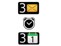 BlackBerry 9720 - Premiers pas - Comprendre les icônes affichés - Étape 13