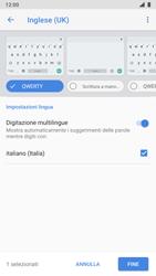 Nokia 8 - Android Pie - Operazioni iniziali - Come aggiungere una lingua alla tastiera - Fase 12