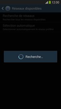 Samsung Galaxy Note III LTE - Réseau - Sélection manuelle du réseau - Étape 7